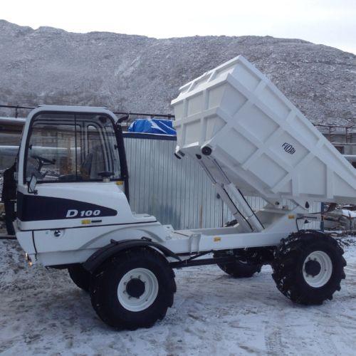Тоннельный самосвал FIORI модели D 100 SL впервые поставлен Российскому заказчику.