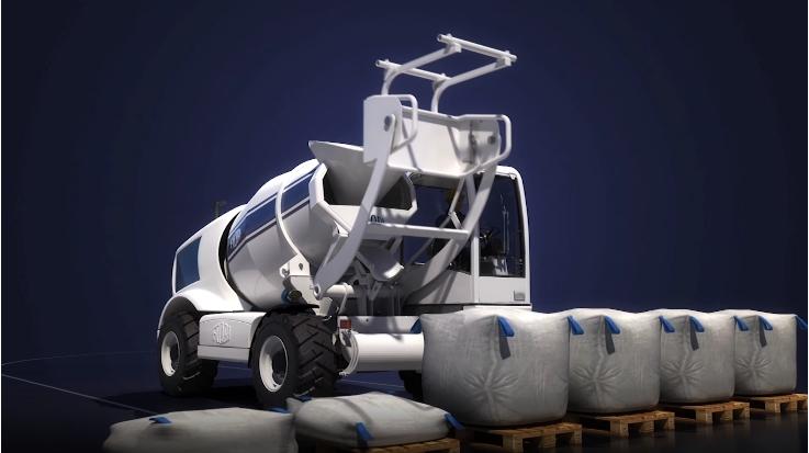 Механическая система для выгрузки материалов из мешков биг-бэг (МКР).